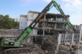 Sennebogen share 4 reasons to choose their 870 E long front demolition machine