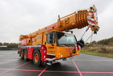 Cadman Cranes ups the number of Liebherr cranes on its fleet