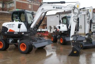 Hunter Plant Hire purchases new Bobcat mini-excavators