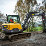 First Volvo EC60E goes to G A Henderson Plant Contractors