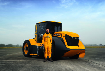 JCB Fastrac storms into record books as world's fastest tractor