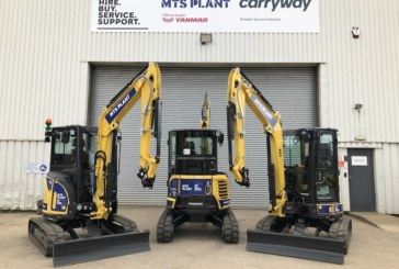 MTS Plant adds latest Yanmar models to growing hire fleet