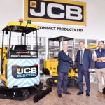 Arnold Plant goes electric with new JCB mini digger