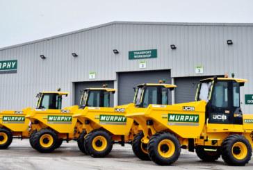 Murphy Plant Ltd orders 25 JCB site dumpers