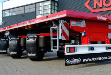 Nooteboom introduces latest LONGRUNNER at the Solutrans in Lyon