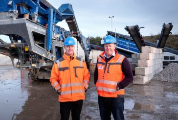 AR Demolition continues investment with £800k of new aggregates machinery
