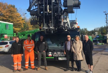 Double first for ABA Crane Hire with new Liebherr tower crane