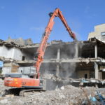 Bradley Demolition install the latest in on board dust suppression