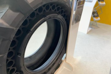 Galileo Wheel Ltd. presents new airless tyres for OTR applications
