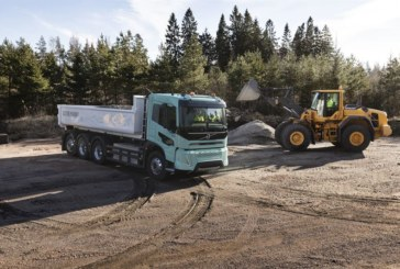 Volvo Trucks presents heavy-duty electric concept trucks