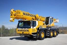 Marsden Crane Services returns to Liebherr for more new cranes