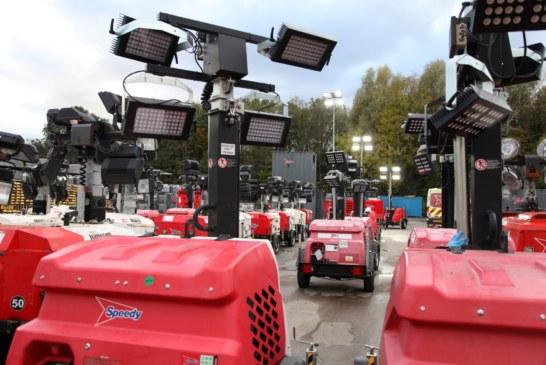 Speedy invests £2.8m in lighting fleet