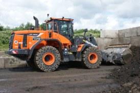 DCV Engineering purchases first Doosan wheel loader