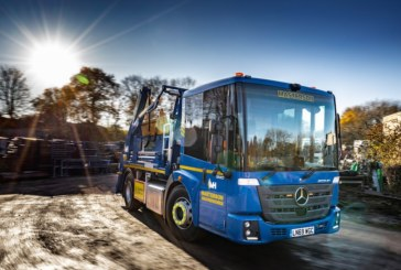 Glencoe Plant Services commissions first Mercedes-Benz Econic skiploader