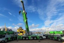 Whyte Cargo Handlers Ltd adds new Liebherr crane to fleet