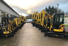Yanmar dealer announces multi-million pound investment in hire fleet