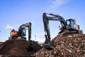 Andrew Sinclair Contractors opt for more Volvo excavators