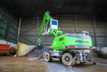 Molson secure distribution of Sennebogen scrap metal and port handling machines