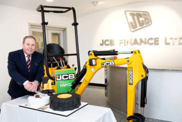 JCB Finance sets golden charity goal to mark 50 years in business