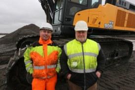 Ireland's first Hyundai 90-tonne HX900L excavator digs deep