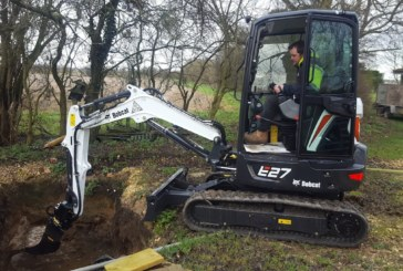Building green homes faster with new Bobcat excavator