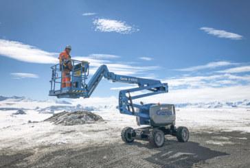 Genie Z-45 XC takes on tough Antarctic mission