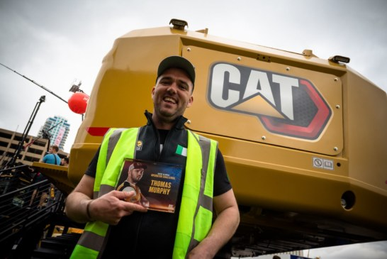 European champion finishes second in world digger challenge