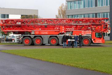First Liebherr MK 140 mobile construction crane in Limerick, Ireland