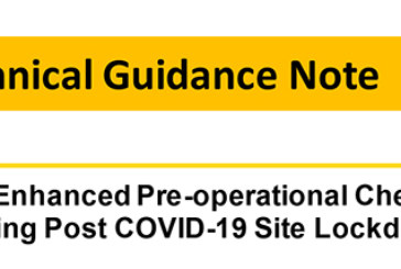 CPA guidance on plant checks following site lockdowns