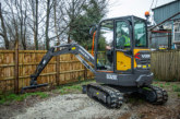 F D Builders adds compact excavator to its fleet