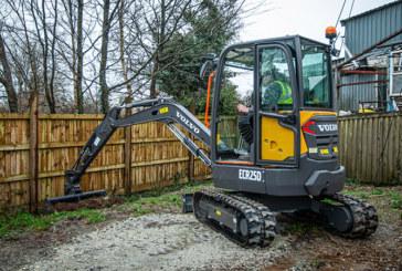 F D Builders adds compact excavator to its fleet