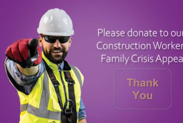 The Lighthouse Construction Industry Charity launches Crisis Appeal