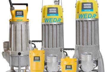 Atlas Copco expands WEDA range with S50 Sludge pump