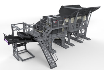 The MJ55 Modular Jaw Crusher from Terex MPS