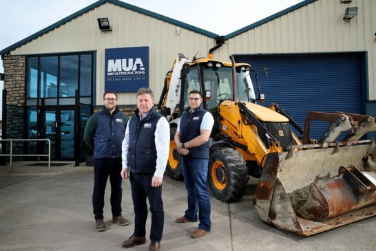 Construction plant and machinery to go under the hammer