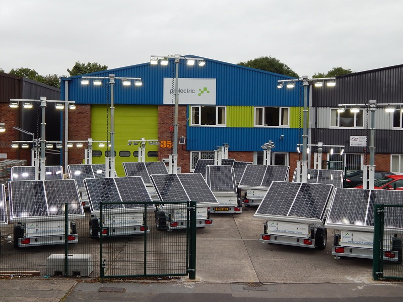 Sunbelt powered by £400K solar lighting investment