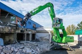 Multi Task with a Sennebogen Mobile Demolition Machine