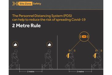 Social distancing devices from SiteZone Safety