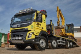 Casey Plant Hire gets an upgrade with new Volvo FMX