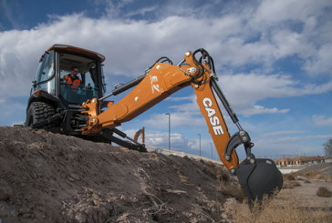 CASE launches world's first fully electric backhoe loader