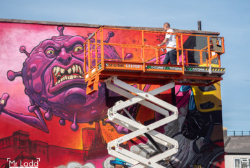 Snorkel UK supports charity mural