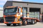 Clements Plant & Access Hire take delivery of Sterling Beavertail