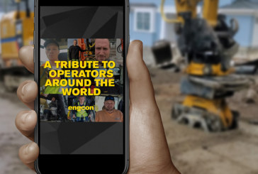 Engcon pays tribute to excavators