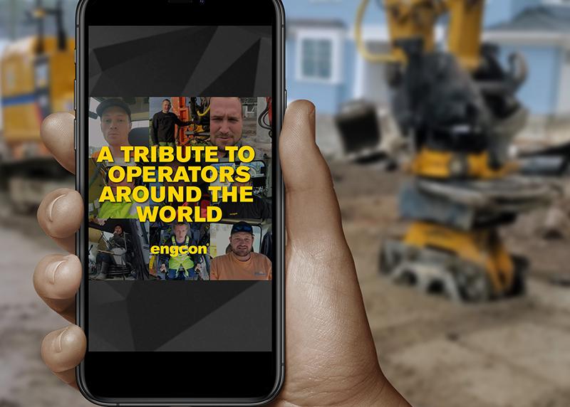 Engcon pays tribute to excavators
