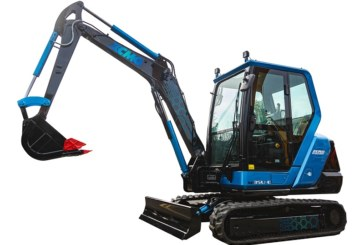 XCMG Electric Excavator makes its 'beautiful' debut