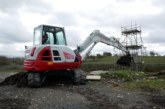 Return of magnificent seven tonne Takeuchi