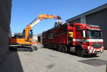 New Doosan excavators at EIS Waste Services