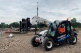 HS2 pioneers electric telehandler