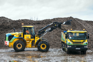 First Stage V JCB 457 wheeled loader touches down in Scotland