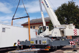 New Liebherr LTM 1160-5.2 for Southern Cranes & Access